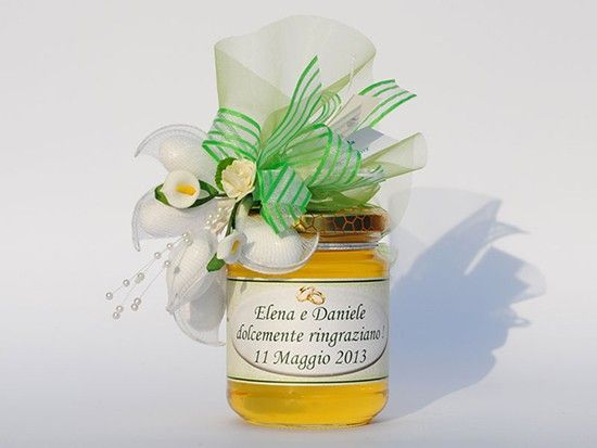 Bomboniere alimentari enogastronomiche miele. Wedding favor honey. #wedding #favor