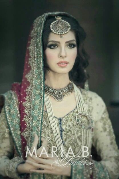 Pakistani Bride - Love everything about this outfit!