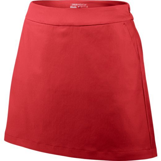 Red Nike Ladies Tournament Golf Skort now at one of the top shops for ladies golf apparel #lorisgolfshoppe