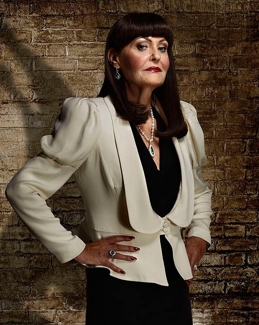 Hilary Devey's talks about her experience of having a stroke.