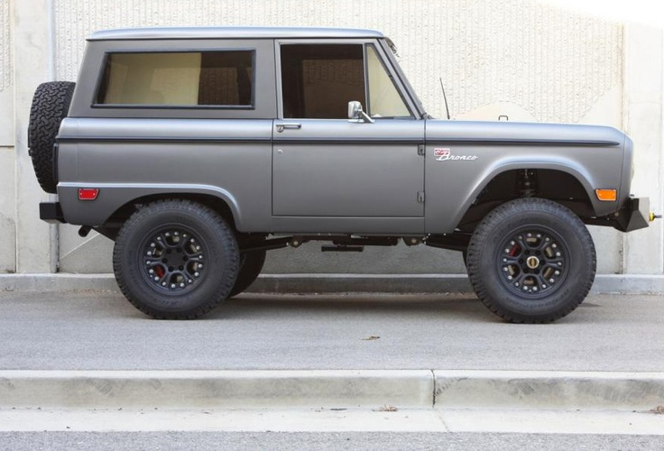ICON Bronco  Inspired by the classic 1966 -1977 Ford Bronco, ICON was designed and engineered with the help of the Ford Motor Company and Nike