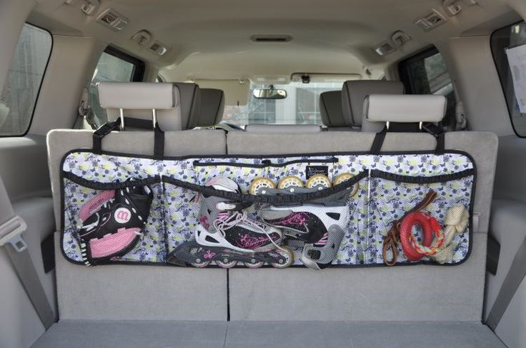 Clever Container Cargo Pocket-Get the car organized with this great product! $28 http://mycleverbiz.com/cleverjulie