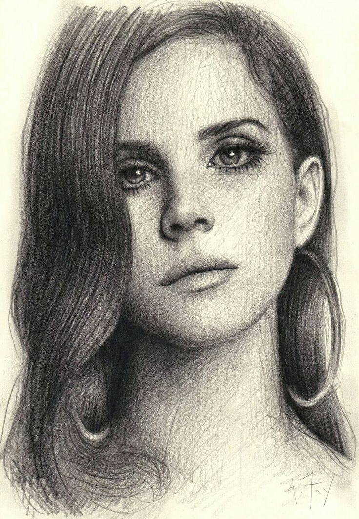 Lana Del Rey #LDR #art by Andrew Fry | Lana Del Rey ~ ART ...