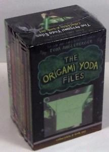 The Origami Yoda Files NEW Collectible Box Set 8 Books Tom Angleberger | eBay