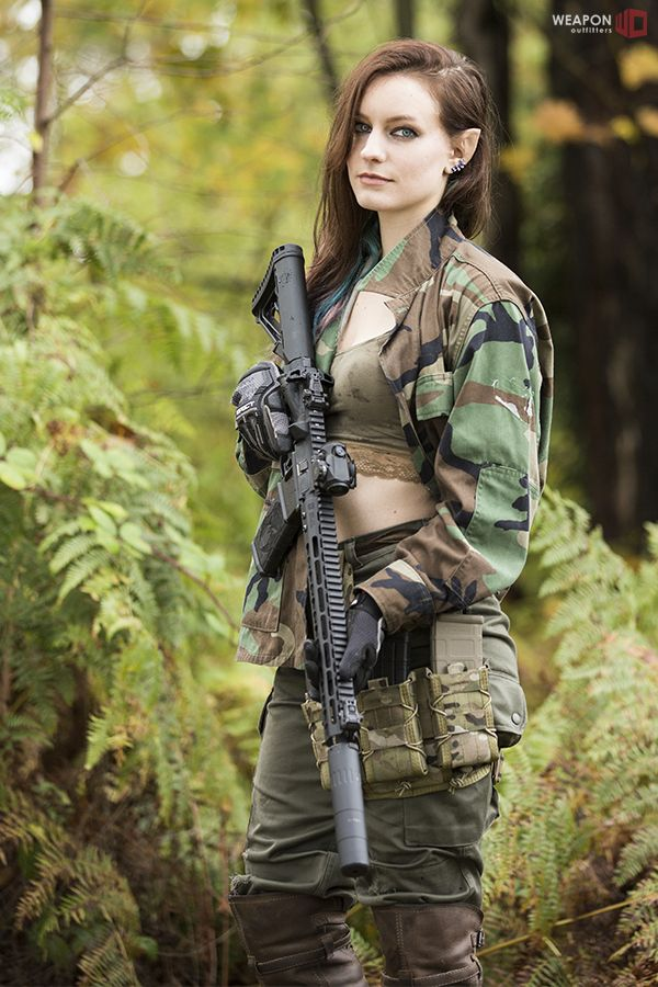 women females weapons - photo #11