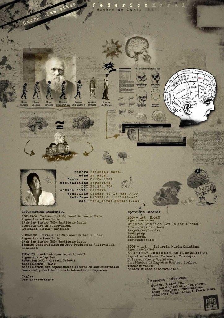 Nog een creatief Curriculum Vitae ontwerp