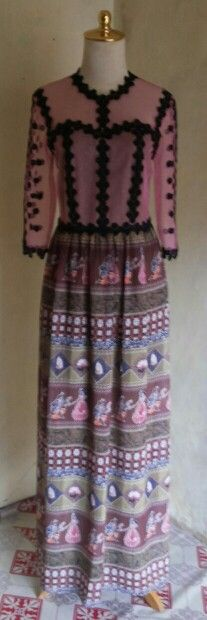Long dress pink by dKurnia boutique