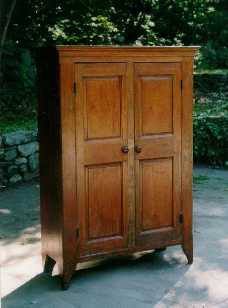 Early American pine Jelly cupboard