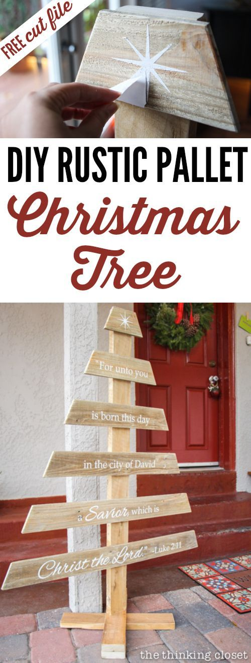 17 Diy Rustic Home Decor Ideas For Living Room: 17 Best Ideas About Pallet Christmas On Pinterest