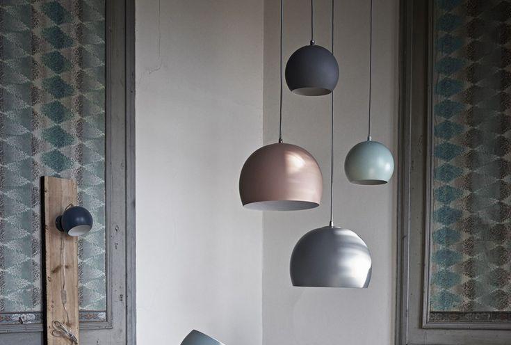 Ball Concrete Pendel Ø30 Lampe
