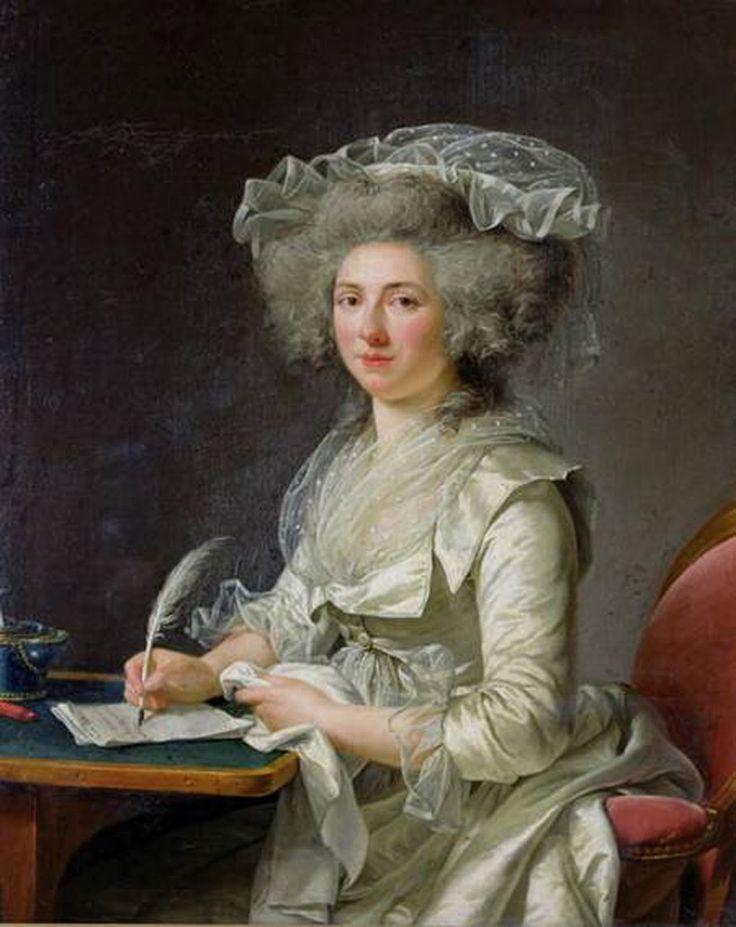 Manon Roland / Auteur : Adélaïde Labille-Guiard en 1787.