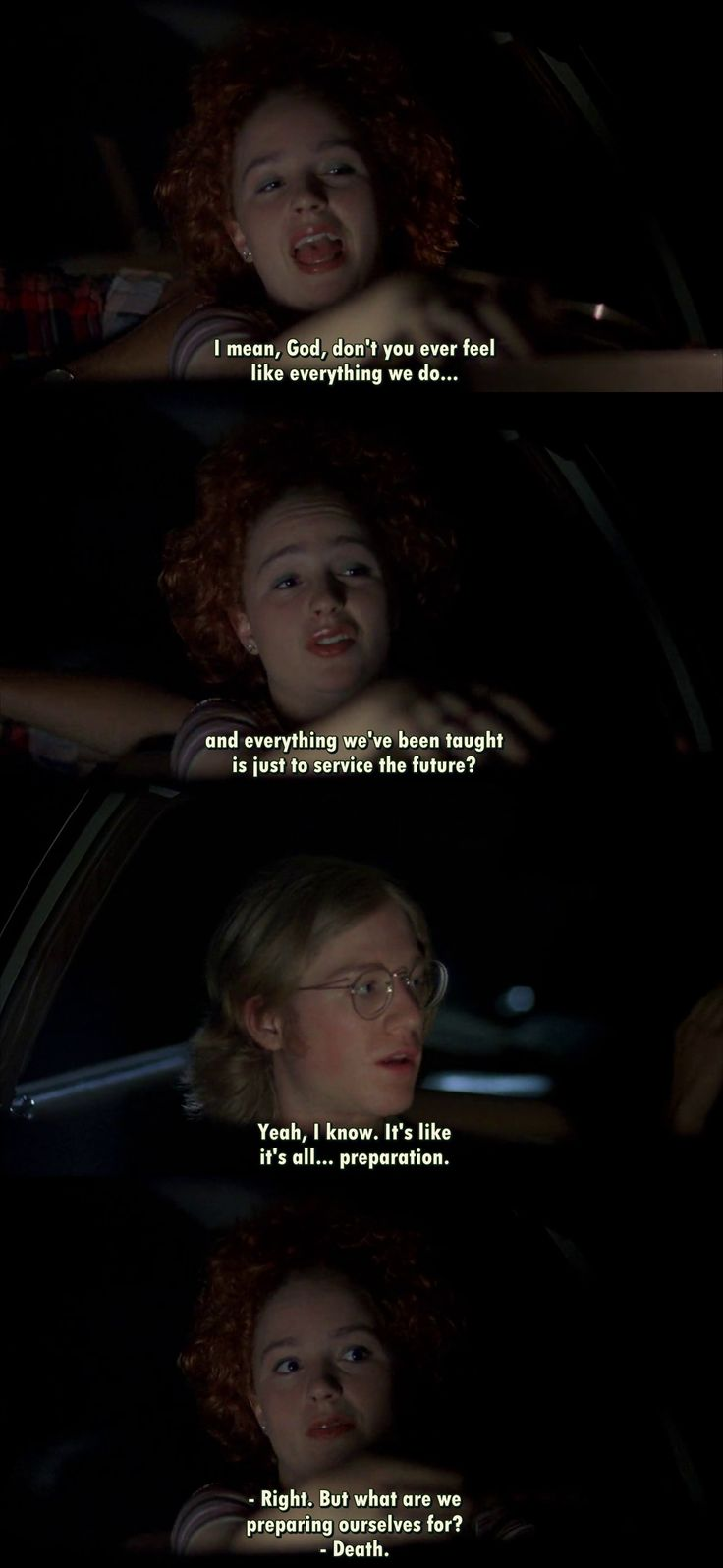 Dazed and confused quotes