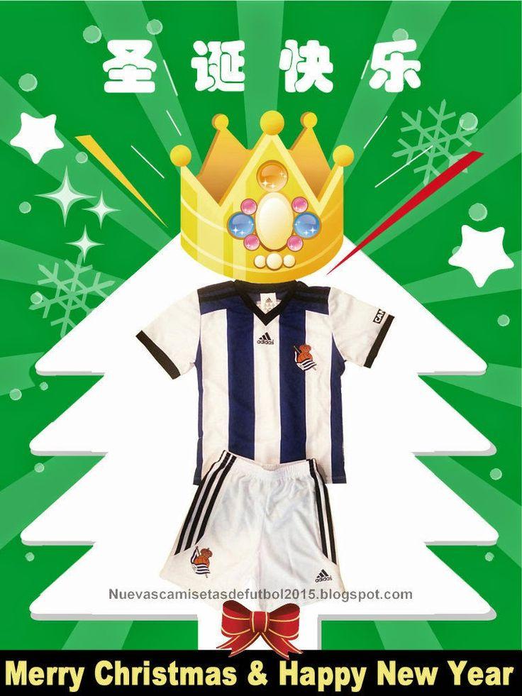 Camiseta Real Sociedad Nino 2014 2015 2016 para los niños del fútbol