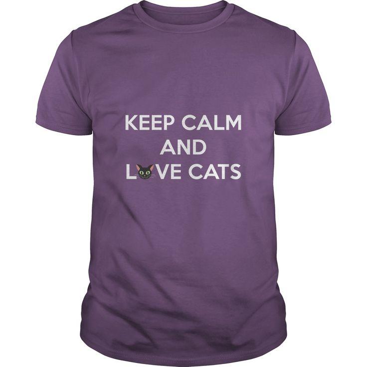 Keep Calm and Love Cats - https://www.sunfrog.com/20160613-141800-160564970.html?68704