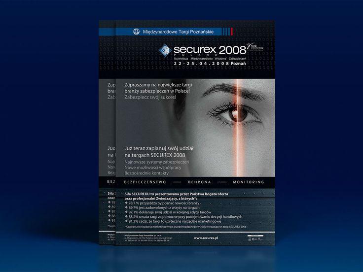 Materiały targowe Securex. #reklama #marketing #targi