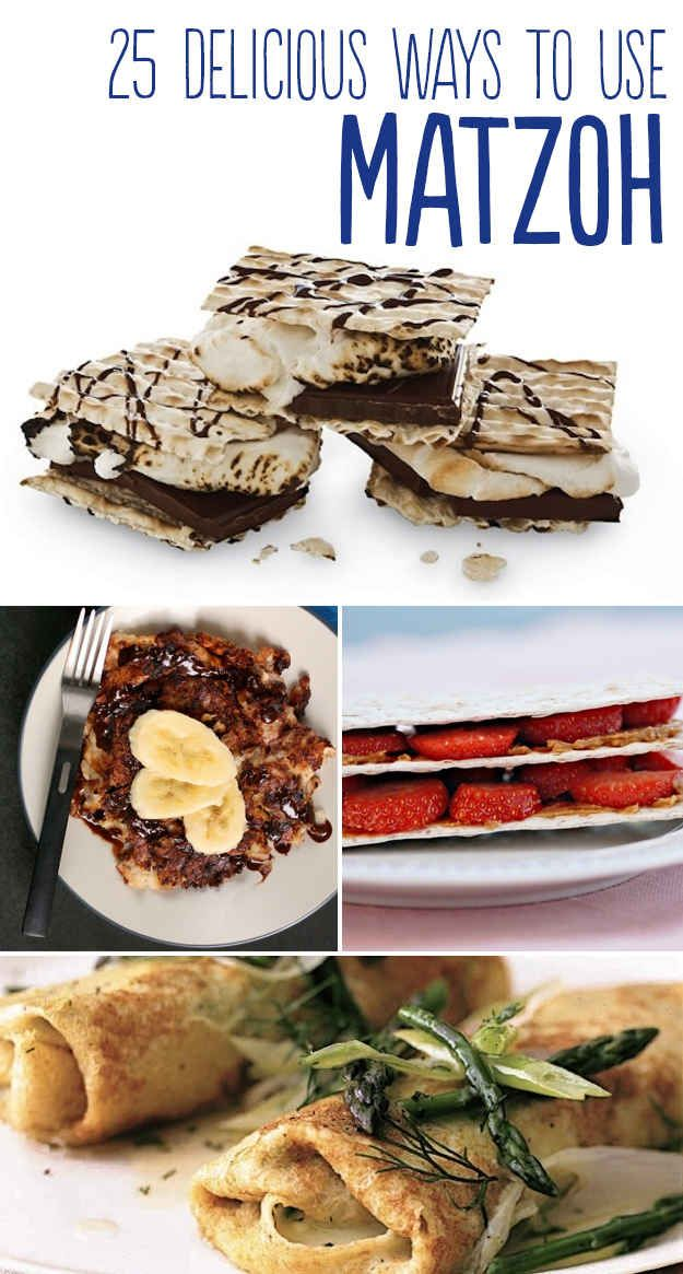 25 Delicious Ways To Use Matzoh