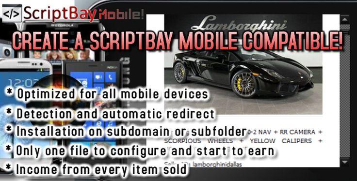 ScriptBay - Mobile Module website