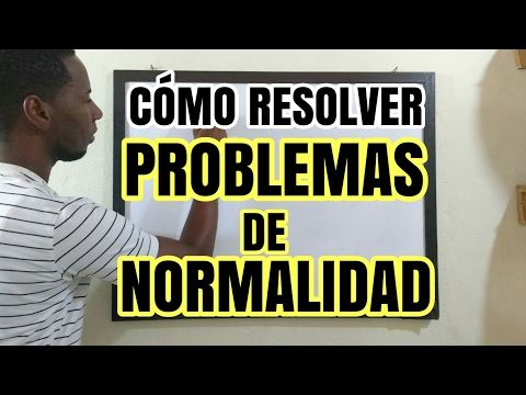 Cómo resolver problemas de Normalidad #soluciones #Química #yamilcordoba YouTube