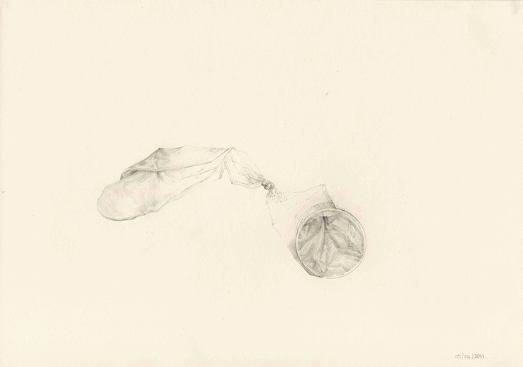 Tie the Knot. pencil on paper.