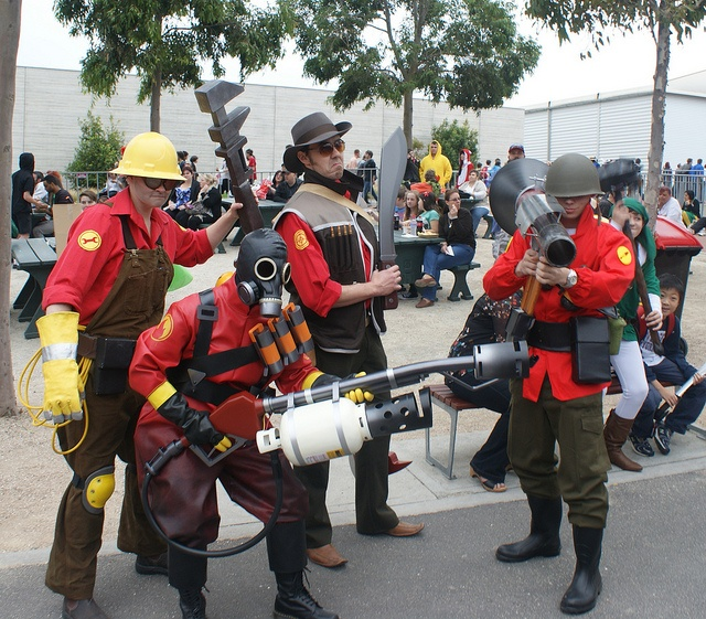 Team Fortress 2 Red Team #teamfortress2 #tf2 #cosplay