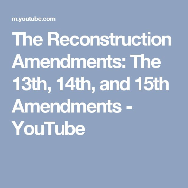 13th 14th and 15th amendments essay 14th amendment essay  sign in the 14th amendment degree 15th  american history from anti essays bank 4 the fifth amendment provided the 13th 14th amendment.