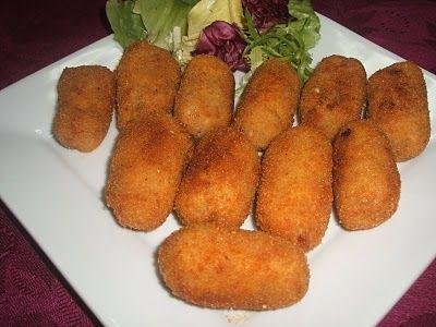 Receta de Croquetas de Ropa Vieja http://www.recetario-cocina.com/receta/croquetas-caseras-de-pollo/