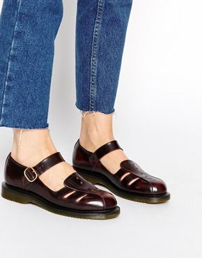 Dr Martens Kensington Deandra Mary Jane Flat Shoes