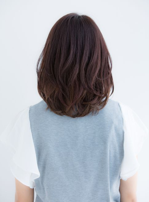 耳かけゆるふわミディ2016(髪型ミディアム)