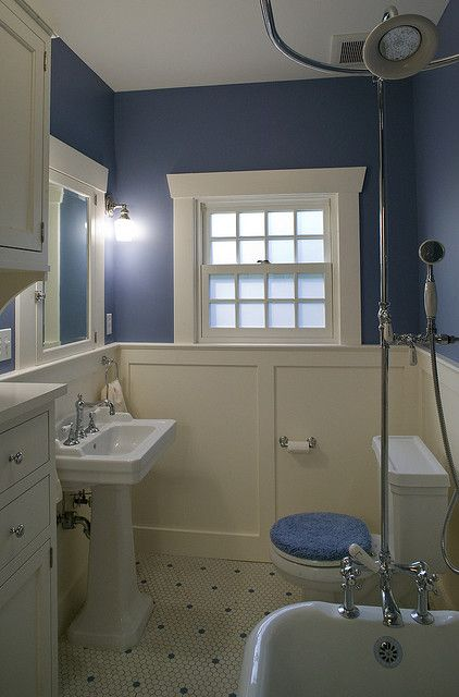 86 best images about bungalow bathrooms on pinterest for Craftsman bathroom pictures