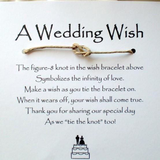Wedding Wish Favors