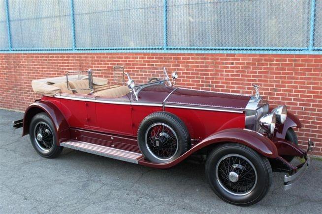 1929 Rolls Royce Phantom I Ascot Tourer by Brewster