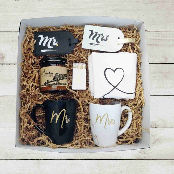 Mr Mrs Wedding Gift Box Unique Wedding Gift Engagement Gift Etsy Wedding Gift Boxes Engagement Gifts For Couples Bride And Groom Gifts