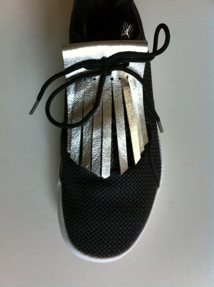 pattes mexicaines franges amovibles en cuir pour chaussures. Black Bedroom Furniture Sets. Home Design Ideas
