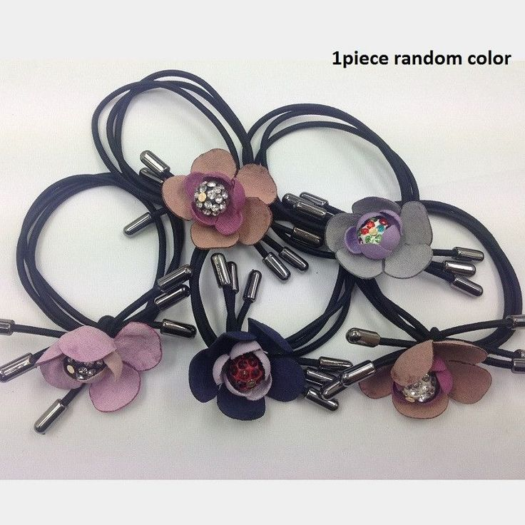 1piece Elastic hair bands with rhinestones Ball Lovely gift for women girl hair accessories Free shipping