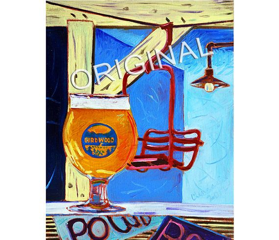 185 best beer art by scott clendaniel craft beer gifts for Chair 7 alyeska