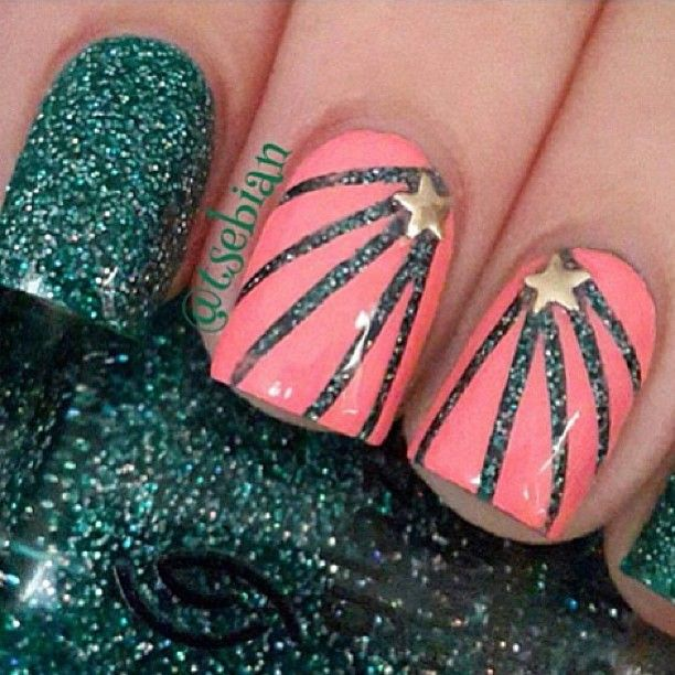 Photo by iiNailsArt(iinailsart): Cute nails  حبيته crd: @tsebian
