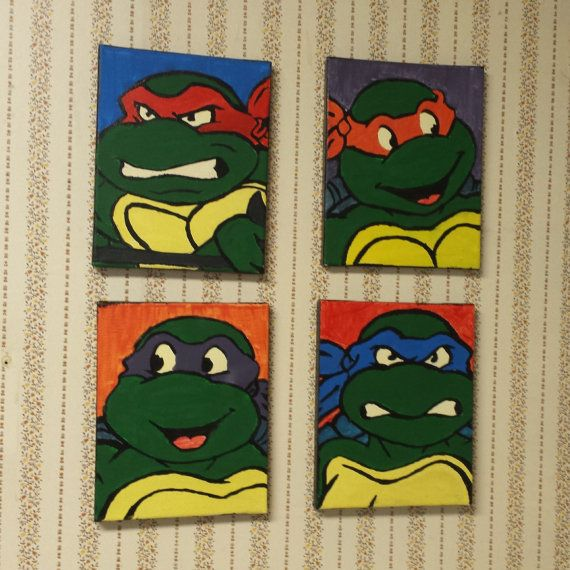Ninja Turtle Wall Decor 13 best tmnt room images on pinterest | ninja turtle bedroom