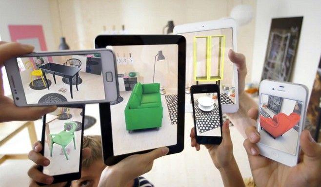 Δείτε να έπιπλα του καταλόγου της ΙΚΕΑ να «ζωντανεύουν» στο σπίτι σας με τη χρήση της επαυξημένης πραγματικότητας (augmented reality).