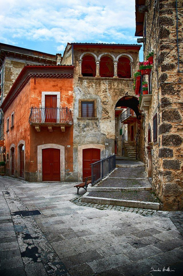 """Scanno: """"Densely packed medieval palazzi, terracotta rooftops, church spires and quirky ancient doors: this is Scanno. It is a picturesque, relatively secluded village in the upper Saggitario Valley and is one of the highlights of any visit to the area."""" Abruzzo: The Bradt Guide www.bradtguides.com"""