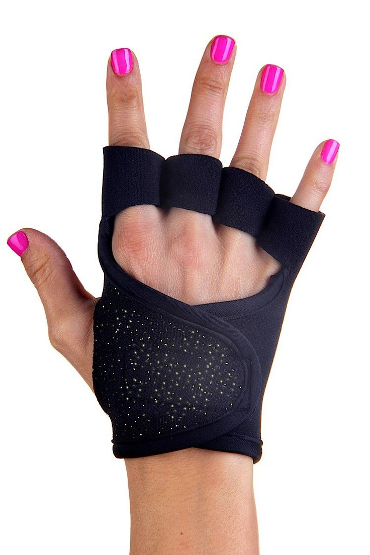 Mens piloxing gloves - Black Sparkle Workout Gloves G Loves Workout Gloves For Women
