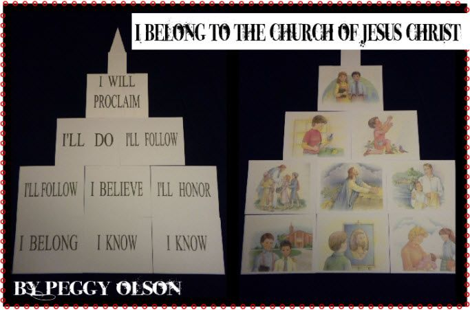 I belong to the Church of Jesus Christ