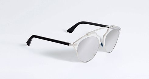 """""""dior so real"""" sunglasses in crystal, black and silver - Accessories Dior"""