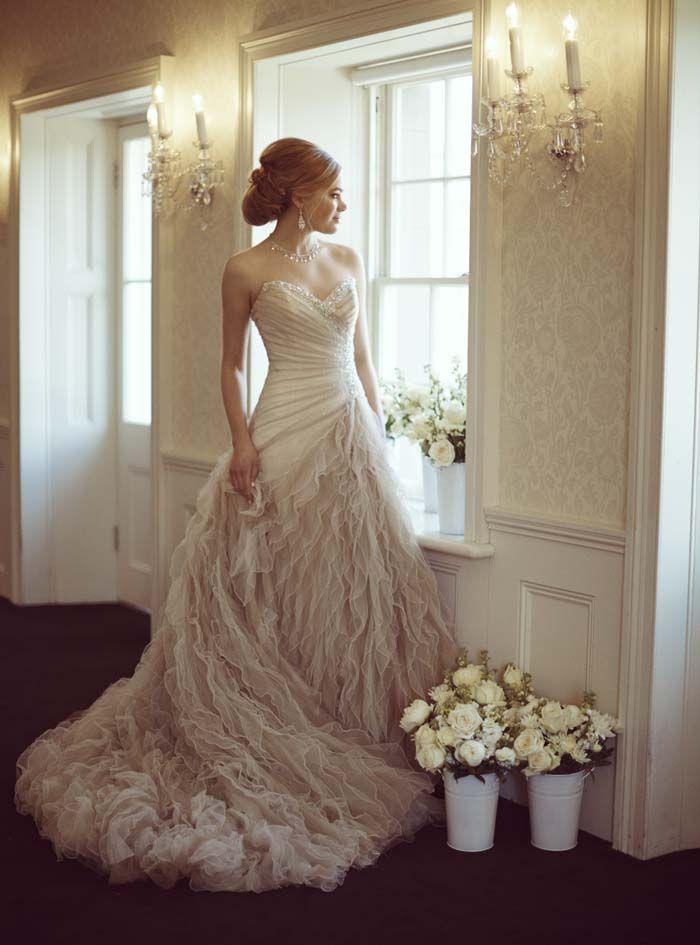 Wedding Dress by Mon Cheri
