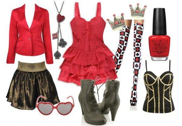Alice in Wonderland inspired--the Red Queen.