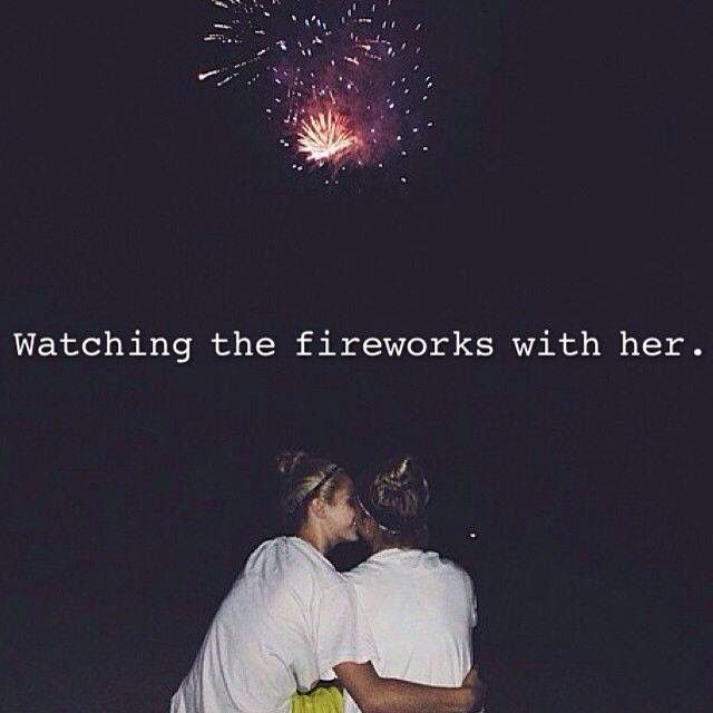 Watching The Fireworks With Her Quotes God Bless America