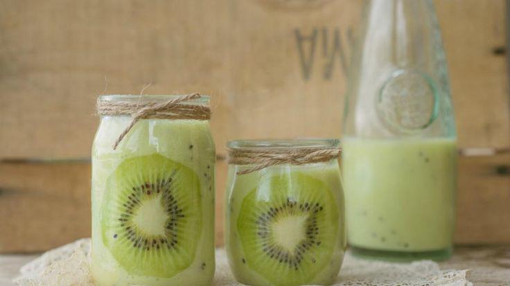 Smoothie van banaan en kiwi | VTM Koken