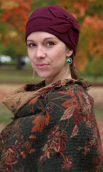 You've Got This! Lovely Fall Fashion hats for cancer patients.