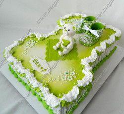 Торт единичка для мальчика на 1 годик
