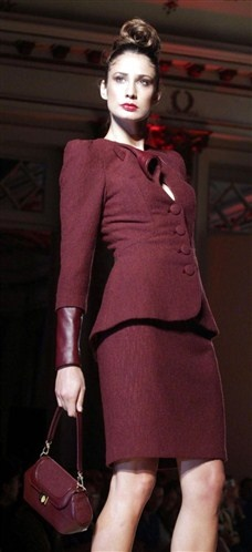 Jamal Taslaq FW 2012. Wouldn't mind getting my hands on some vintage/vintage-inspired business suits.