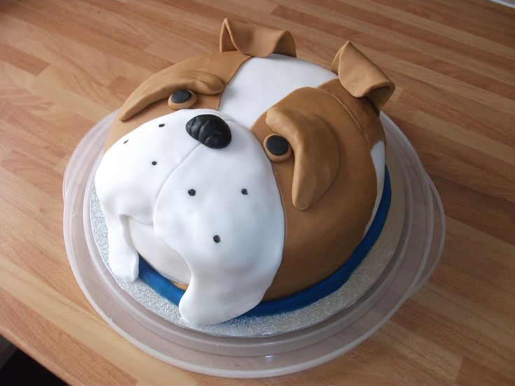Billy Bulldog Cake